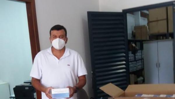 MIRACEMA RECEBE 3.000 TESTES RÁPIDOS