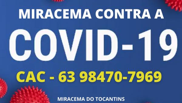 NOVAS MEDIDAS DE ENFRENTAMENTO SÃO DECRETADAS EM MIRACEMA