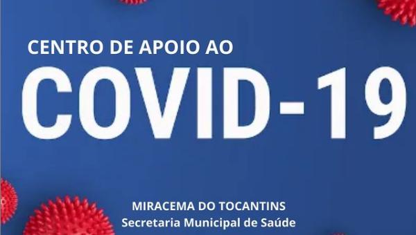 NOVOS HORÁRIOS DE ATENDIMENTO DO CENTRO DE APOIO AO COVID