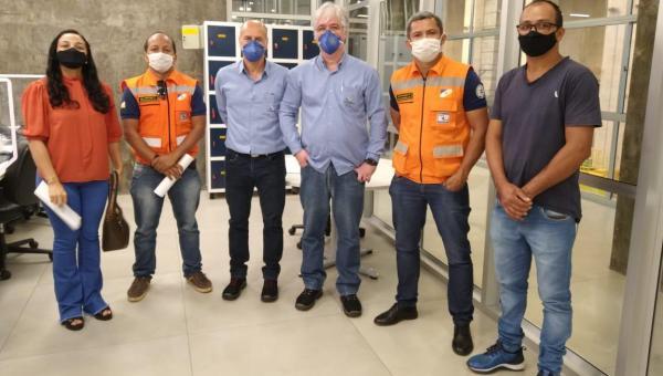 PREFEITA CAMILA FERNANDES PARTICIPA DE REUNIÃO NA INVESTCO PARA APROVAÇÃO DO PLANO DE AÇÃO EMERGENCIAL DE SEGURANÇA DA BARRAGEM